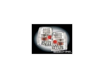 エムイーコーポレーション ZONE LEDテールレンズ クリアー/クロム タイプ-1 品番:210736 フォルクスワーゲン パサート B5 3B/3BG ワゴン