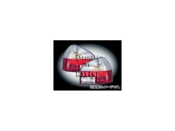 エムイーコーポレーション ZONE テールレンズ クリスタルクリアー/レッド タイプ-2 品番:210464 アウディ A3 8L