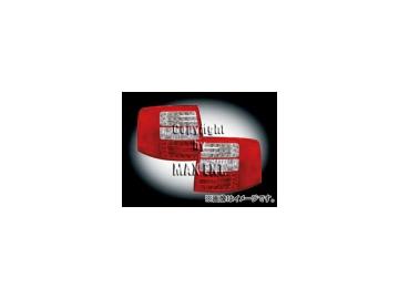 エムイーコーポレーション ZONE LEDテールレンズ 品番:210587 アウディ A6 C5/4B ワゴン
