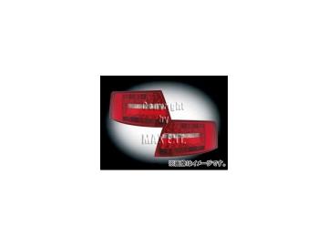 エムイーコーポレーション ZONE LEDテールレンズ 品番:210606 アウディ A6 C6/4F セダン