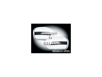 エムイーコーポレーション ZONE ドアミラーカバー LEDウインカー&ウェルカムライト付 未塗装 品番:221048 メルセデス・ベンツ W211 Eクラス セダン/ワゴン