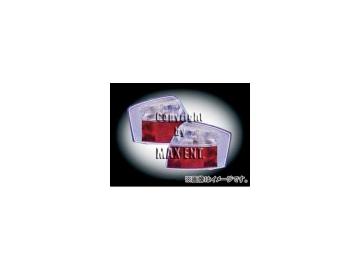 エムイーコーポレーション HELLA テールレンズ クリアー/レッド タイプ-1 品番:210481 アウディ A4 8E/B6 セダン