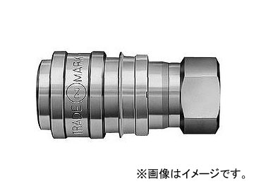 日東工器 S210カプラ ソケット おねじ取付用 S210-4S X100