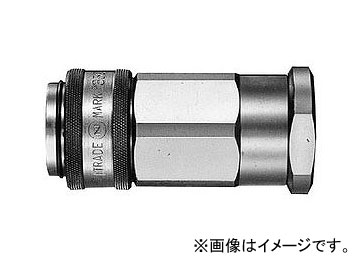 日東工器 350カプラ ソケット おねじ取付用 350-10S X100