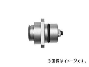 日東工器 マルチカプラ ソケット(高圧用フランジ固定型) MALC-2HS-FL