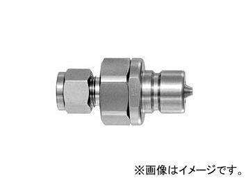日東工器 ハイフローカプラ BI型 プラグ(パイプ取付用) HFL-4P-BI1/2