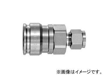 日東工器 ハイフローカプラ BI型 ソケット(パイプ取付用) HFL-3S-BI1/2