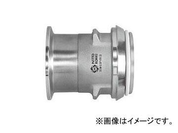 日東工器 サニタリーカプラ イージーウォッシュタイプ プラグ(へルール取付用) SEW-2.0P-FR SI