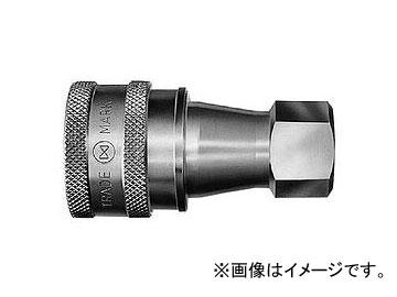 日東工器 SP-Vカプラ ソケット おねじ取付用 4S-V BRASS/FKM(X100)