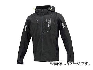 2輪 コミネ JK-112 プロテクトハーフメッシュパーカ-ゲンリ ブラック 選べる8サイズ 07-112