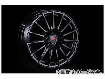 STI アルミホイール ブラック 17×7.5J+48 PCD100/5穴 ST28100MF080
