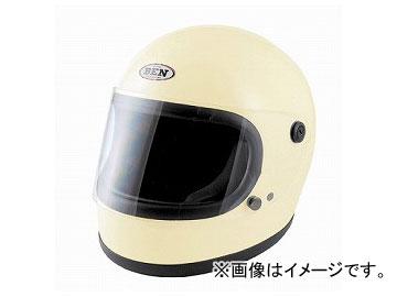2輪 TNK工業 ヴィンテージフルフェイスヘルメット BEN60 B-60 アイボリー FREE(58-59cm未満) 512063