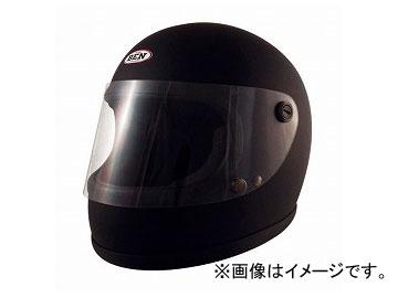 2輪 TNK工業 ヴィンテージフルフェイスヘルメット BEN60 B-60 マットブラック FREE(58-59cm未満) 511806