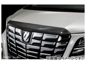 シルクブレイズ フードトップモール カーボン(クリア塗装) SB-30AL-FTM トヨタ アルファード GGH/AGH/AYH30・35W S系グレード 2015年01月~