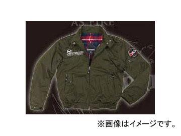 2輪 コミネ JK-591 プロテクトスイングトップジャケット Dark Olive 選べる6サイズ 07-591
