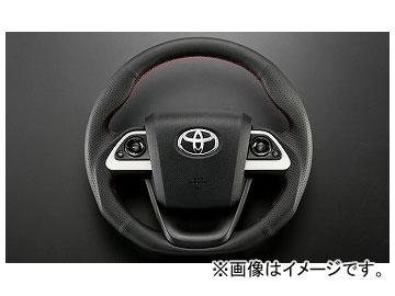 シルクブレイズ オールレザーステアリング SB-ST-203 トヨタ プリウス ZVW5# 2015年12月~