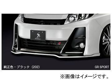 シルクブレイズ フロントリップスポイラー タイプS ガンメタ(YR562)単色 TSR80NG-FS-YR562 トヨタ ノアG's/GR SPORT ZRR80W 2016年04月~