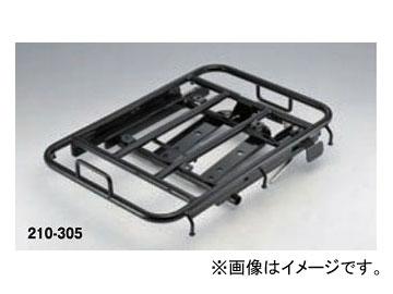 2輪 キジマ リアキャリア スライド ブラック 210-305 ホンダ Dio110/リード125(JF45)