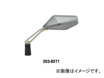2輪 キジマ ミラー EURO-01 シルバー/Sゴールド L/Rセット 203-8071 入数:1セット(左右)
