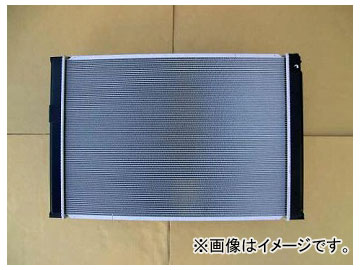 国内優良メーカー ラジエーター 参考純正品番:16041-20281 トヨタ アルファード MNH15W 1MZFE AT 2005年04月~2008年05月