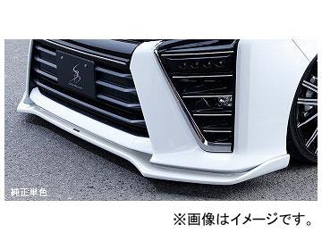 シルクブレイズ フロントリップスポイラー タイプS 純正単色 トヨタ ヴォクシー ZRR/ZWR8#W ZS 2017年07月~ 選べる5塗装色
