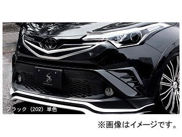 シルクブレイズ LEDフロントバンパーダクトカバー 純正単色 トヨタ C-HR ZYX10/NGX50 2016年12月~ 選べる8塗装色