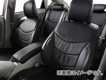 アルティナ プラウドシリーズ スタイリッシュレザー for プリウス シートカバー ブラック 2413 トヨタ プリウスアルファ ZVW40W 2015年03月~