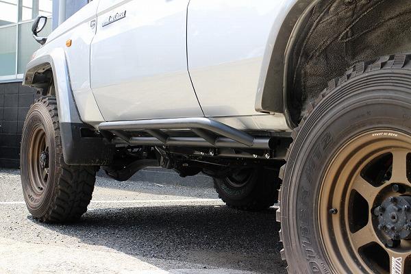 2021特集 サクソン/SUXON サイドステップ サクソン/SUXON チッピング塗装 CBF-GRJ76K マットブラック LGS-076 1GR トヨタ ランドクルーザー CBF-GRJ76K 1GR 4000cc, トラック メッキパーツ:fb910d2b --- agroatta.com.br