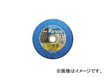 レヂトン/RESITON EX EXTRA CUT 金属用 青(切れ味タイプ) 両面補強切断砥石 サイズ:150×2.5×22 入数:100