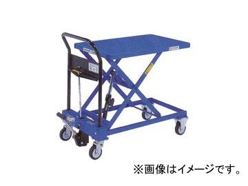 をくだ屋技研/O.P.K 手動式リフトテーブルキャデ 早揚り装置・急降下防止バルブ付 LT-H250-8