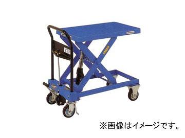 をくだ屋技研/O.P.K 手動式リフトテーブルキャデ 早揚り装置・急降下防止バルブ付 LT-H550-8M