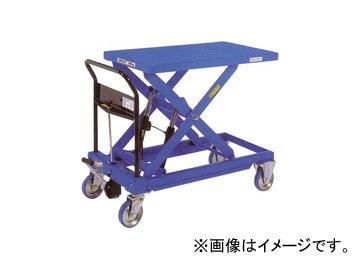 をくだ屋技研/O.P.K 手動式リフトテーブルキャデ 早揚り装置・急降下防止バルブ付 LT-H800-10
