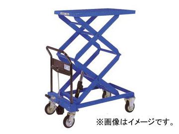 をくだ屋技研/O.P.K 手動式リフトテーブルキャデ 高揚程タイプ LT-WH300-15-A