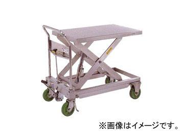 をくだ屋技研/O.P.K 手動式リフトテーブルキャデ ステンレスタイプ LT-H550-9SU