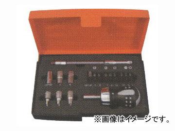 バーコ/BAHCO スタッビーラチェットスクリュードライバーセット 18点セット 808050S-18