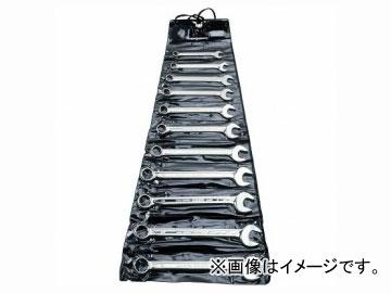 バーコ/BAHCO プラスチック・ワレット入り 片目片口スパナセット 111Z/11T
