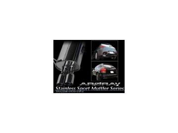 アーキュレー/ARQRAY マフラー ステンレス スポーツ マフラー シリーズ/Stainless Sport Muffler Series 8031AU33 BMW E90 335i セダン ABA-VS35 06~ 【smtb-F】