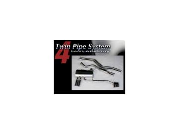 アーキュレー/ARQRAY マフラー ツイン パイプ システム/Twin Pipe System BMW E90 323i 325i 330i M スポーツ ABA-VB23, ABA-VB25, ABA-VB30 【smtb-F】