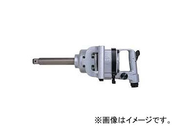 """エス.ピー.エアー/SP AIR インパクトレンチ 25.4mm角(1"""") 50mmショートアンビル仕様"""