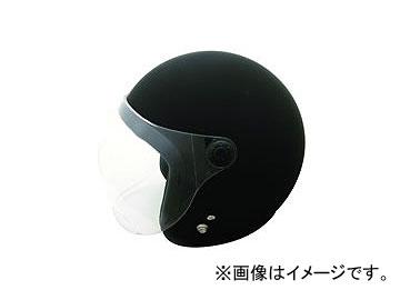 2輪 TNK工業 スモールジェット型 ヘルメット JL-65(DX) シャドウ カラー:マッドブラック