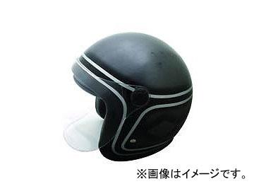2輪 TNK工業 スモールジェット型 ヘルメット WJ-65DX シャドウ カラー:スキャットガンメタ