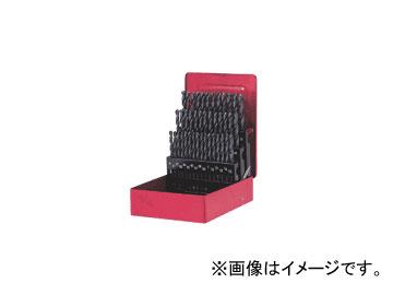 三菱マテリアル/MITSUBISHI 鉄工ドリルセット(スチールケース入り) 41本セット SET41