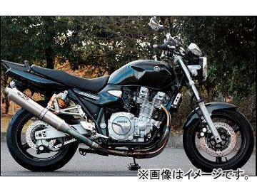 2輪 ノジマ マフラー FASARM PRO TITAN TYPESC NMTX225VZ-CLK ヤマハ XJR1300 2007年~2010年