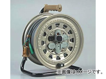 ハタヤリミテッド/HATAYA サンタイガーリール 100V型 【接地付】 30m GT-301KX JAN:4930510204109 入数:1台