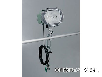 ハタヤリミテッド/HATAYA 瞬時再点灯型150W型メタルハライドライト(屋外用) 5m MLV-105KH 入数:1台