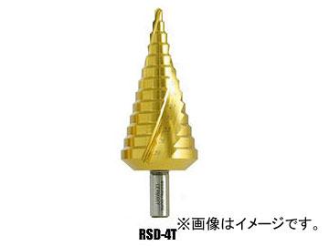 ウイニングボアー/WINNING BORE ピラミッドドリル (チタンコーティング) スパイラルカットシステム RSD-4T 全長:109mm JAN:4943102060144