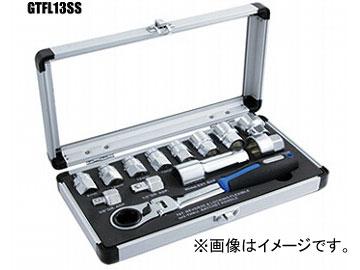 ウイニングボアー/WINNING BORE ゴースルーラチェット&スプラインソケットセット GTFL13SS JAN:4989530609173