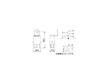 ミツバサンコーワ/MITSUBASANKOWA メンテナンスパーツ ISOマイクロリレー RC-5103 入り数:500個 受注生産