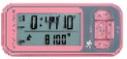 ハタ/HATAS セイコー/SEIKO ウオーク・ノート ジョグプラス WZ540PI カラー:ピーチピンク JAN:4543208004266 入数:10個