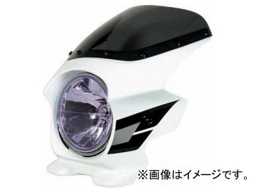 2輪 Nプロジェクト スーパーバイカーズビキニカウル ブラスターII 23124 JAN:4571115621276 STD PFホワイト(Wライン) ホンダ CB400スーパーフォア